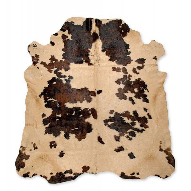 Cow Skin Beige Spots - 200x220