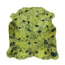 Cow Skin Green/Acid Blue - 200x220