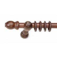 Ξύλινο Συσκευασμένο Κουρτινόξυλο Anartisi Sconti Μονό Φ28mm 160 cm