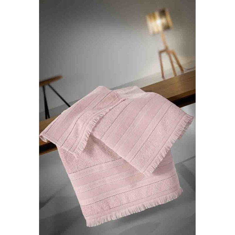 Σετ Πετσέτες Guy Laroche Massimo Old Pink ( 3 τμχ )