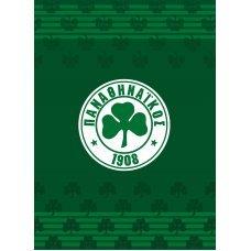 Palamaiki FC 1908 Panathinaikos VELOUR/2 Κουβέρτα Βελουτέ 160x220