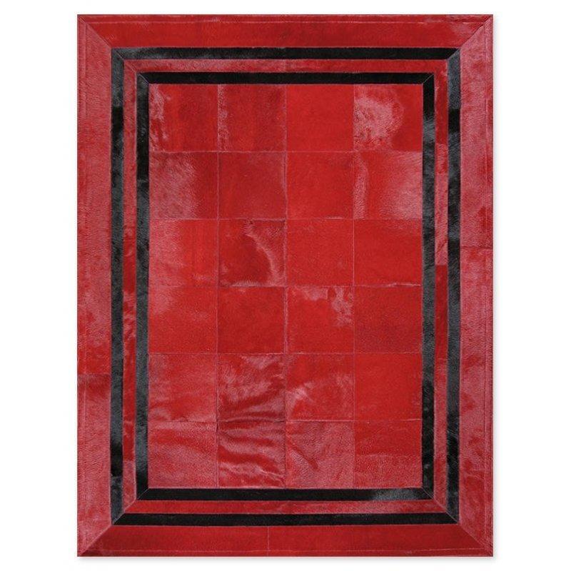 Δερμάτινο Χαλί Sr.1 Red/Black
