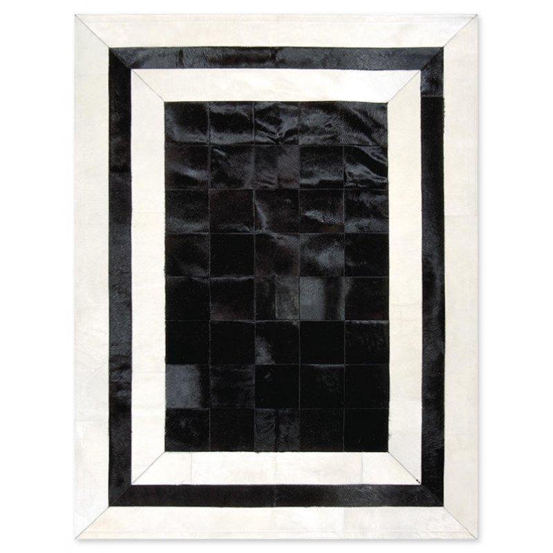 Δερμάτινο Χαλί Sr.2 Black/White