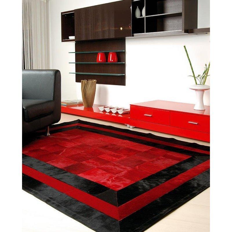 Δερμάτινο Χαλί Sr.2 Red/Black