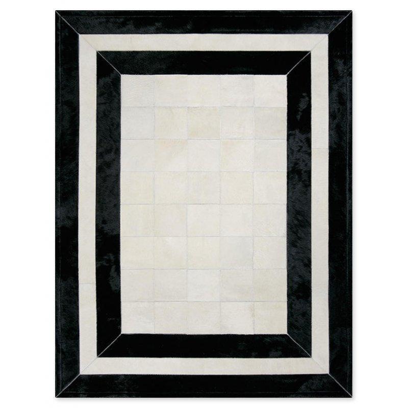 Δερμάτινο Χαλί Sr.2 White/Black