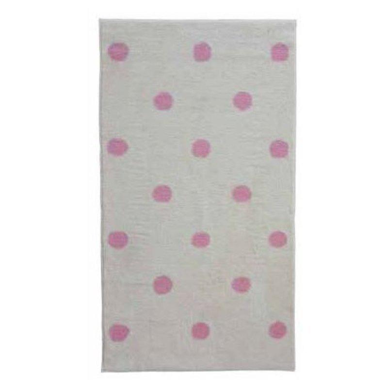 Βαμβακερό Χαλί KIDDO Dots / Cream